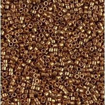 Delica Hexcut 11/0 DBC0022 Metallic Bronze