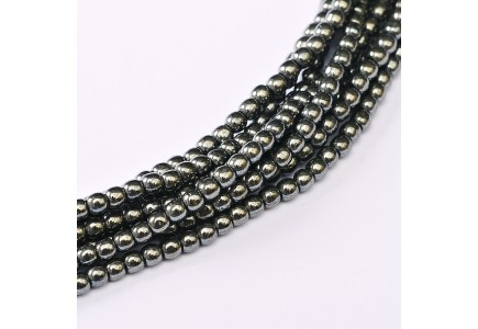 Margele Rotunde 2mm 23980/14400 Jet Hematite