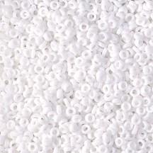 Miyuki Spacer 2,2x1 0402 White Opaque