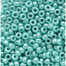 Margele Toho 8/0 0132 Opaque Lustered Turquoise