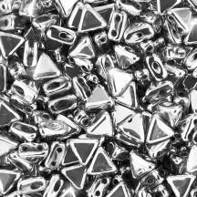 Margele Kheops Par Puca 6x6mm 00030/27000 Argentees/Silver