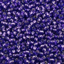 Margele Toho 15/0 2224 Silver Lined Luster Purple