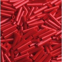 Margele Toho Bugle 9mm  0045 Opaque Pepper Red
