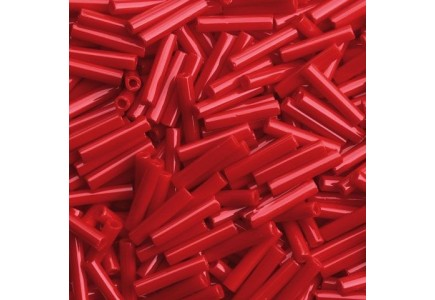 Margele Toho Bugle 9mm  45 Opaque Pepper Red