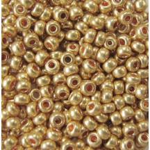 Margele de nisip Preciosa Ornela 10/0 19001/18581 Galvanized Gold