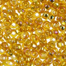 Margele de nisip Preciosa Ornela 10/0 29001/17059 Silver Lined Topaz AB