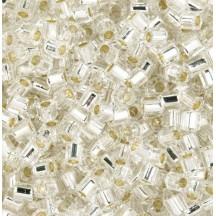 Margele Toho 11/0 0021 Silver Lined Crystal