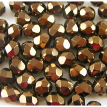 Margele Cehesti Fire-Polish 3mm 23980/14415 Jet Bronze