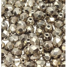 Margele Cehesti Fire-Polish 4mm 00030/27500 Crystal Argentic Full