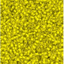 Margele Toho 11/0 0032F Silver Lined Frosted Lemon