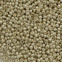 Margele de nisip Preciosa Ornela 8/0 18303 Galvanized Silver