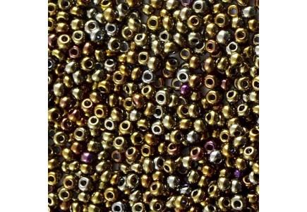 Margele de nisip Preciosa Ornela 6/0 19001/59115 Metallic olivine