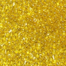 Margele De Nisip Preciosa Ornela 15/0 19001/80010 Transparent Yellow Crystal
