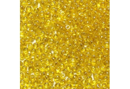 Margele De Nisip Preciosa Ornela 13/0 19001/80010 Transparent Yellow Crystal