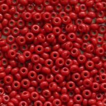 Margele De Nisip Preciosa Ornela 13/0 19001/93210 Opaque Red