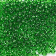 Margele De Nisip Preciosa Ornela 13/0 19001/50120 Green Crystal