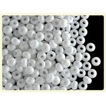 Margele de nisip Preciosa Ornela 8/0 19001/46205 White Pearl AB