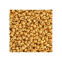 Margele de nisip Miyuki 11/0 5gr 24KT Gold Plated 0193