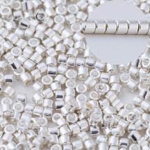 Delica 11/0 DB0551 Silver Plated