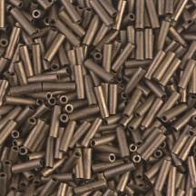 Miyuki Bugle 6mm 2006 Matted Metallic Dk.Bronze