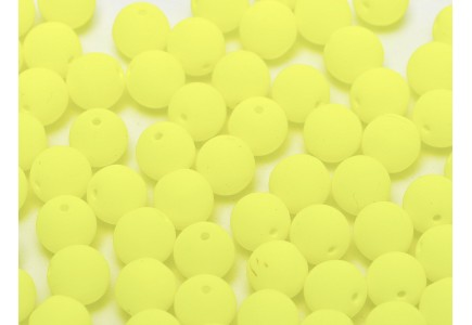 Margele Rotunde 8mm 25121 Neon Bright Yellow