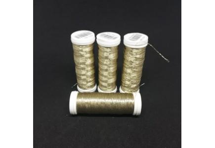 Fir Metalizat Auriu Deschis