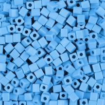 Miyuki Cube 1.8mm 0413FR Op. Turquoise Blue Matted AB