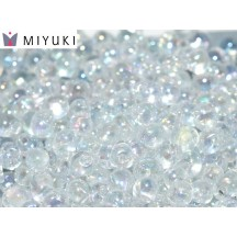 Miyuki Drop 0250 Crystal AB