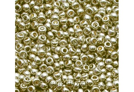 Margele de nisip Preciosa Ornela 10/0 18303/19001 Galvanized Silver