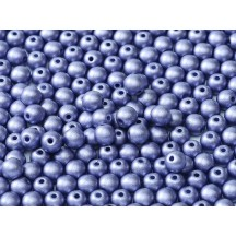 Margele Rotunde 6mm 02010/29425 Alabaster Metallic Violet