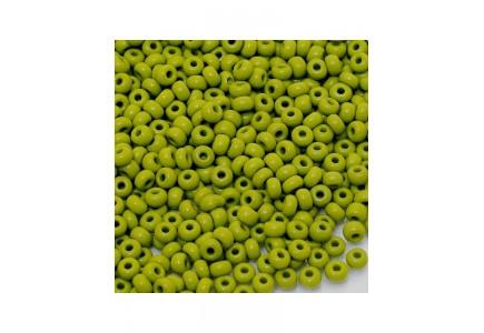 Margele de nisip Preciosa Ornela 6/0 19001/53430 Opaque Olive Green