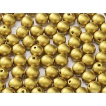 Margele Rotunde 6mm 01720 Olive Gold