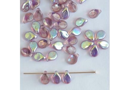 Margele Pip 5x7mm 20040/28701 Crystal Amethyst AB