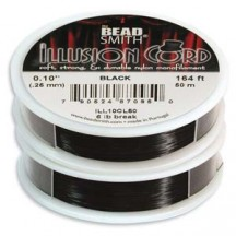 Ilusion Cord 0.25mm Negru