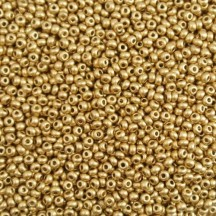 Margele de nisip Preciosa Ornela 10/0 19001/01710 Metallic Flax