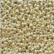 Margele de nisip Preciosa Ornela 10/0 19001/18503 Galvanized Lt Aluminium