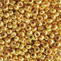 *Margele de nisip Preciosa Ornela 6/0 19001/18304 Galvanized Gold