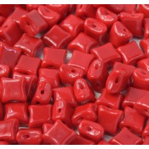 Margele Wibeduo 8x8mm 93200 Opaque Red