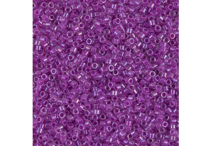 Delica 11/0 DB0073 Lined Lilac AB