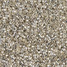 Delica 11/0 DB0035 Galvanized Silver