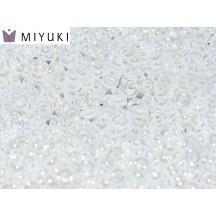 Miyuki Spacer 2,2x1 0420 White Pearl Ceylon