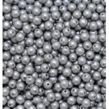 Margele Rotunde 3mm 25028 Pastel Lt Grey