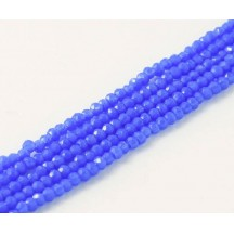 Rondele 1x2mm Baltic Blue