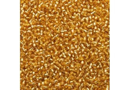 Margele Toho 8/0 0022B Silver Lined Medium Topaz