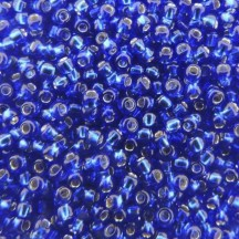 Margele Toho 15/0 0028 Silver Lined Cobalt