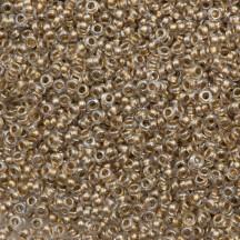 Margele Toho 15/0 0989 Gold Lined Crystal