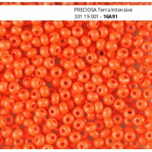 Margele de nisip Preciosa Ornela 10/0 19001/16A91 Terra Intensive Bright Orange