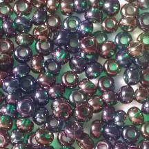 Margele de nisip Preciosa Ornela 10/0 19001/51710 Transparent Iris Emerald