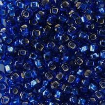 Margele de nisip Preciosa Ornela 10/0 29001/67300 Silverlined Cut Cobalt