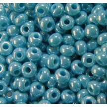 Margele de nisip Preciosa Ornela 10/0 19001/68030 Green Turquoise Pearl